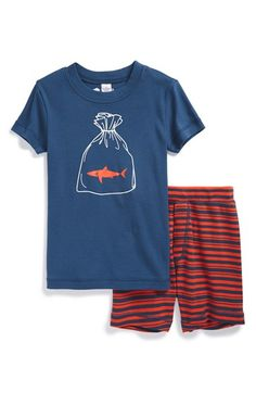 Tucker + Tate Two-Piece Fitted Pajamas (Toddler Boys, Little Boys & Big Boys) available at #Nordstrom