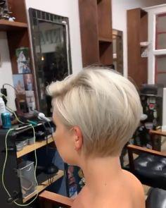 Bob Frisuren Kurz Wonderful Short Hairstyles Who Is Dr. Short Hair Styles Easy, Medium Hair Styles, Curly Hair Styles, Easy Hairstyles For Long Hair, Short Hairstyles For Women, Girl Hairstyles, Oval Face Haircuts Short, Edgy Bob Hairstyles, Short Bob With Undercut