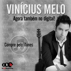 """Vinicius Melo agora também no digital! Compre os álbuns """"Deixa Deus Agir"""" e """"Fé+Esperança+Amor"""" pelo iTunes: https://itunes.apple.com/br/album/deixa-deus-agir/id673976868  #musicagospel #gospel #itbmusic #viniciusmelo #deixadeusagir #feesperançaamor #iTunes"""