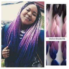 Ombre Braids UK @ombrebraidsuk Hair Inspiratio...Instagram photo | Websta (Webstagram)