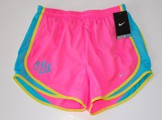 monogramed nike shorts...unnecessary maybe...awesome YES