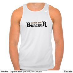 Bracker - Cayman Brac New Balance Running Tank Top. #CaymanBrac #CaymanIslands #Athlete #Bracker #CaribLoveDesigns #Zazzle