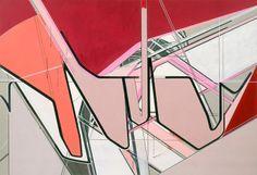 Frank Nitsche     GOF-08-2004  2004  Oil on canvas  200 x 290 cm via Max Hetzler Gallery