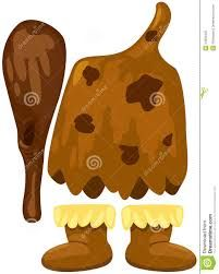 Set Of Costume Caveman Stock Photos - Image: would be funny to make giant cardboard version of this to hold up for photo props. Archaeology For Kids, Stone Age Art, Early Humans, Ice Age, Preschool Art, Ancient Rome, Summer Art, Art Pictures, Art History