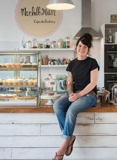 """Isabell Busse (Cafe Marshalls Mum) aus den """"Sugar Girls"""" von Jana Henschel und Meike Werkmeister © Ulrike Schacht"""
