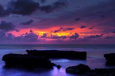 Sunset at Echo beach #Bali #Indonesia