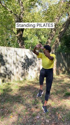 Pilates Workout, Butt Workout, Gym Workouts, At Home Workouts, Fitness Workout For Women, Fitness Diet, Yoga Fitness, Fitness Motivation, At Home Workout Plan