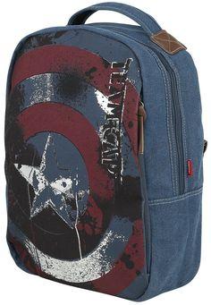 Captain America Rugtas - Nu bestellen bij Large