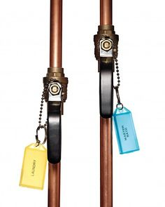 Use for water line drains.