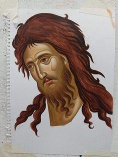 Religious Images, Religious Icons, Celtic Border, John The Baptist, Orthodox Icons, Byzantine, Christian Faith, Saints, Face