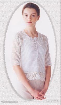 若烟的女子----下一件的目标  - 荷塘秀色 - 茶之韵♪ ♪ ... #inspiration_crochet #diy GB