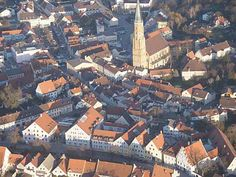 Dingolfing, Germany: The town where my great grandparents grew up and where my grandma was born.