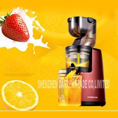 126.22$  Watch now - http://ali8lf.shopchina.info/go.php?t=32802195295 - New Arrival Large Wide Mouth Feeding Chute Whole Apple Slow Juicer Fruit Vegetable Citrus Juice Extractor Squeezer 613 220V Hot 126.22$ #shopstyle