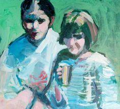 """Saatchi Art Artist Victor van de Lande; Painting, """"Dochters"""" #art"""