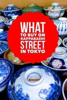 Kappabashi Street is a great Tokyo street to shop for knives, chopsticks, pottery and more. It's the perfect place to buy an awesome knife.