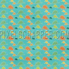Dino Papel - Stegosaurus