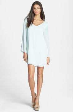 ASTR Textured Shift Dress available at #Nordstrom