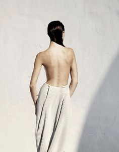 """""""Purity of White"""": Jacquelyn Jablonski photographed by Julia Noni for Vogue Japan May 2014"""