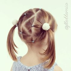 """""""Triangle partings, elastics and pigtails """" Photo taken by @flettemia on Instagram, pinned via the InstaPin iOS App! http://www.instapinapp.com (05/01/2015)"""