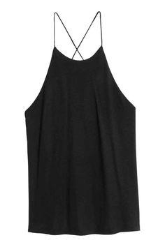 Jersey top - Black - Ladies | H&M