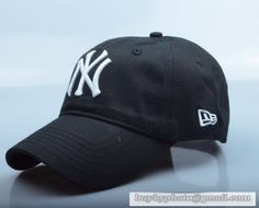 9d52a14c2f3 New Era MLB New York Yankees Baseball Cap Breathable Cap Curved visor Hat  Classic Retro Black White