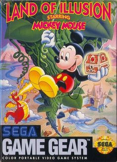 Land of Illusion Starring Mickey Mouse (Sega Game Gear, 1993)