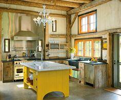 Yellow Kitchens!