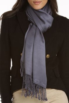 Betsy Scarf In Gray.
