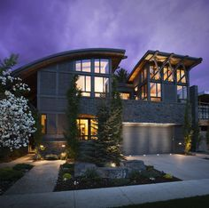 DeJong Design Associates - Contemporary - Rideau XII Design Firms, Mansions, Contemporary, House Styles, Home Decor, Curtains, Decoration Home, Manor Houses, Room Decor
