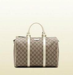 "Gucci bags and Gucci handbags 193603 9761 ""joy"" medium boston bag 220 Gucci Handbags Outlet, Gucci Outlet, Chloe Handbags, Handbags On Sale, Chanel Online, Popular Handbags, Classic Handbags, Gucci Shoulder Bag, Totes"