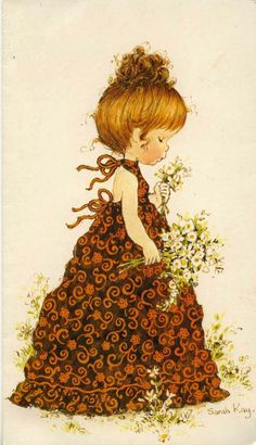 Immagini Sara Kay e Holly Hobbie Sarah Key, Holly Hobbie, Decoupage, Sara Key Imagenes, Papier Kind, Mary May, Illustrations, Cute Illustration, Oeuvre D'art