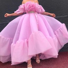 by Dona Matoshi. Shop for beautiful Gowns at Dona Matoshi. Discover a fabulous selection of dresses. Pretty Prom Dresses, Glam Dresses, Pink Prom Dresses, Event Dresses, Homecoming Dresses, Cute Dresses, Pink Dress, Formal Dresses, Vestidos Fashion