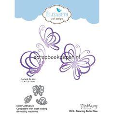 Elizabeth Craft Design stans - Dancing Butterflies