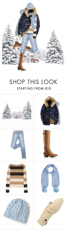 """Baby It's Cold Outside!"" by yasminasdream ❤ liked on Polyvore featuring SOREL, MaxMara, Monsoon, Lands' End and Muk Luks"
