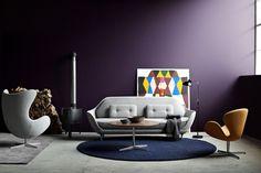 FAVN sofa by Jaime Hayon and Fritz Hansen