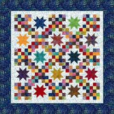 Breezy Batiks Quilt Kit $109.95 on Blue Ribbon Quilt Shoppe at http://store.blueribbonquiltshoppe.com/stores_app/Browse_Item_Details.asp?Store_id=731&page_id=23&Item_ID=9744