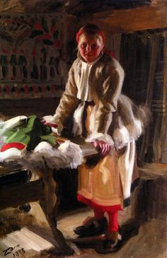 Winter Garb, 1918