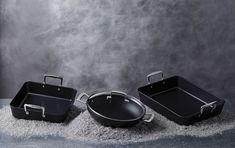 Revolutionise your cooking experience with Le Creuset Toughened Non-Stick. Tough enough to combat even the most tenacious foods, the revamped non-stick coating will make cooking your best-ever meals a breeze! Griddle Pan, Aluminium, Cooking, Kitchen, Grill Pan, Brewing, Cuisine, Cook