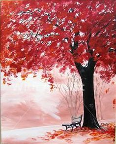 Painting with a Twist Grapevine - Love this tree