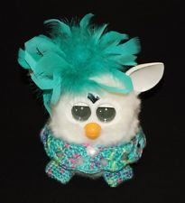 crochet furby free | Crochet Outfit/Clothes/Accessories for Furby & Furby Boom - Blue-Green ...