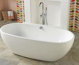 Victoria Plumb Positano Roll Top Bath & Phaze Bath Shower.