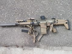 Scar heavy 17 suppressed