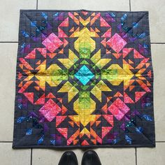 #alisonglassminiquiltswap #agteamhandcrafted  @kim_k All the colours are just right up my street