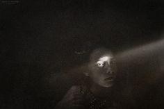 light beam.  photo