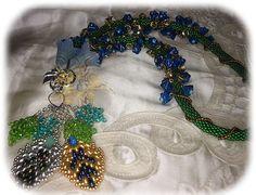 Necklace Fleurs de Printemps por LaBoutiqueDEtoile en Etsy