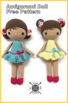 Amigurumi Baby Doll Bun Free Crochet Pattern - Amigurumi Patterns