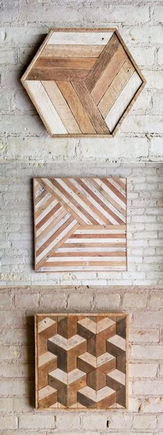 Ted's Woodworking Plans - Creative Wall Art to Decorate Your Space – Woodworking Get A Lifetime Of Project Ideas & Inspiration! Step By Step Woodworking Plans Wooden Wall Decor, Wooden Walls, Wall Art Decor, Wall Decorations, Wall Wood, Pallet Wall Art, Easy Wall Art, Wooden Wall Tiles, Pallet Frames