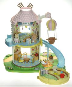 *fistuff* Sylvanian Families Decorated Baby Windmill / House Figures + Lots!