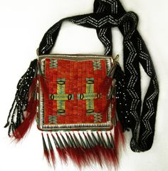 Contemporary Makers: Michael Galban Bag with Finger Woven Strap by James Blake