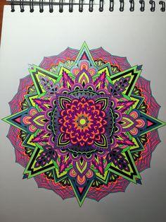 ColorIt Mandalas to Color Volume 1 Colorist: Stacy Hyneman Russell #adultcoloring #coloringforadults #mandalas #mandala #coloringpages
